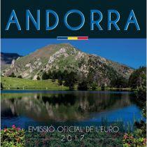 Andorra Proof set of Andorra 2017 8 coins BU in Euros 2017 - Delivery 15-02-2018