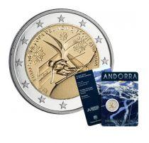 Andorre 2 Euros, Ski Alpin - 2019 Coincard