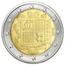 Andorre 2 Euros Armoiries Andorre - 2015