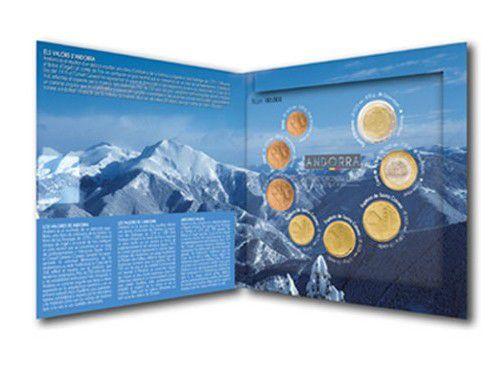 Andorre BU.2014 Série 8 pièces Euros Andorra BU 2014 dispo