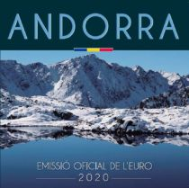 Andorre Coffret BU Andorra 2020 -  8 pièces