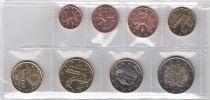 Andorre Série 8 monnaies  Andorra 2017