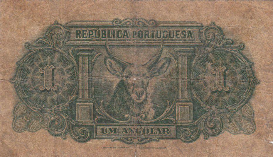 Angola 1 Angolar 1942 - P.68 - B+