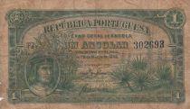 Angola 1 Angolar 1942 - P.68 - Good to Fine