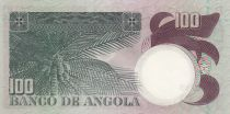 Angola 100 Escudos L. de Camoes - Cocotier - 1973
