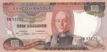 Angola 100 Escudos M. Carmona - Palmiers - 1972