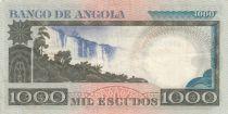 Angola 1000 Escudos - L. de Camoes - Cascade - Séries diverses - TTB - P.108