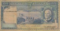 Angola 1000 Escudos A. Tomas, barrage