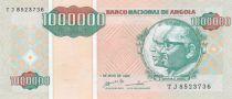 Angola 1000000 Kwanzas Reajustados Reajustados, Dos Santos - Neto - Ecolière - 1995