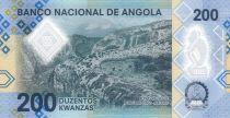 Angola 200 Kwanzas A.A. Neto - 2020- Polymer - Neuf