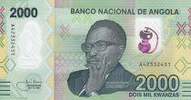 Angola 2000 Kwanzas A.A. Neto - 2020 - Polymer - UNC