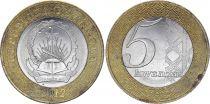 Angola 5 Kwanzas Armoiries - 2012 - Bimetal - SPL - KM.109