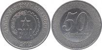 Angola 50 Centimos BNA - 2012 - Bimetal - SPL - KM.107