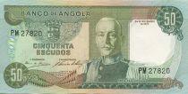 Angola 50 Escudos M.Carmona - Coffee