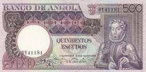 Angola 500 Escudos L. de Camoes - Rock - 1973