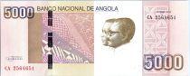Angola 5000 Kwanzas A.A. Neto, J.E. Dos Santos - Barrage de Kapanda 2012