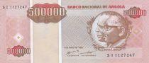 Angola 500000 Kwanzas Reajustados Reajustados, Dos Santos, Neto - 1995