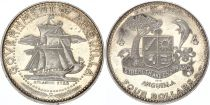 Anguilla 4 Dollars Bateaux  - Armoiries - 1970