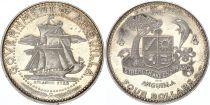 Anguilla 4 Dollars Boat  - Arms - 1970