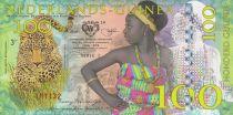 Animaux 100 Gulden, Femme - Léopard 2016