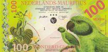 Animaux 100 Gulden, Perroquet - Voilier - 2016