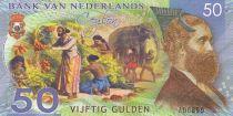 Animaux 50 Gulden, Explorateur - Voiliers - Eléphant 2016