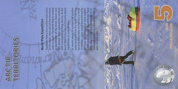 Antarctica and Arctic 5 Polar dollars, Musk ox - Exploration - 2012
