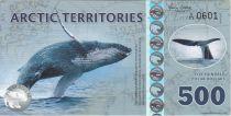 Antarctica and Arctic 500 Polar dollars, Humpback whale - 2017