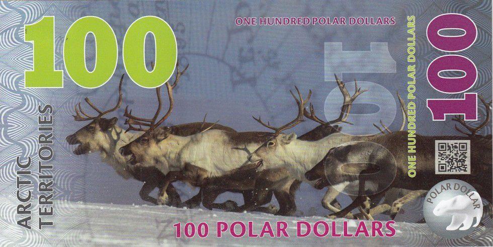 Antarctique et Arctique 100 Polar dollars, Rennes - 2017