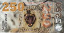 Antarctique et Arctique 250 Polar dollars, Lynx - 2017