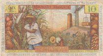 Antilles Françaises 10 Francs Jeune Antillaise - 1964 - Série T.6- TB+ - P.8b