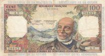 Antilles Françaises 100 Francs Victor Schoelcher - ND (1964) - Série A.3 - TB