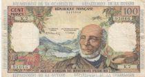 Antilles Françaises 100 Francs Victor Schoelcher - ND (1964) - Série K.2 - TTB