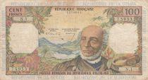 Antilles Françaises 100 Francs Victor Schoelcher - ND (1964) - Série N.1 - TB - P.10a - 1ère signature