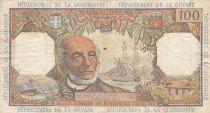 Antilles Françaises 100 Francs Victor Schoelcher - ND (1964) - Série P.1 - TTB - P.10a - 1ère signature
