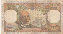 Antilles Françaises 100 Francs Victor Schoelcher - ND (1964) - Série Q.1 - p.TTB - P.10a - 1ère signature