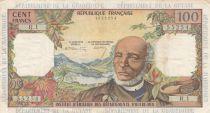 Antilles Françaises 100 Francs Victor Schoelcher - ND (1964) - Série R.1 - TTB - P.10a - 1ère signatures