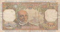 Antilles Françaises 100 Francs Victor Schoelcher - ND (1964) - Série T.1 - TTB - P.10a - 1ère signatures
