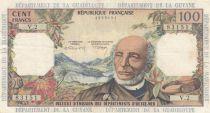 Antilles Françaises 100 Francs Victor Schoelcher - ND (1964) - Série V.2 - TB+