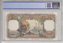 Antilles Françaises 100 Francs Victor Schoelcher - ND 1964 Série F.3 PCGS 66 OPQ