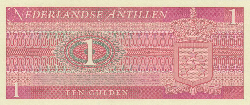 Antilles Néerlandaises 1 Gulden ND1970 - Port