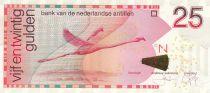 Antilles Néerlandaises 25 Gulden 2014 - Flamand Rose