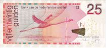 Antilles Néerlandaises 25 Gulden Flamand Rose - 2014
