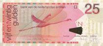 Antilles Néerlandaises 25 Gulden Flamand Rose