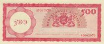 Antilles Néerlandaises 500 Gulden 1962 - Raffinerie de Curaçao