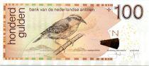 Antilles Néerlandaises P.31.g 100 Gulden, Sucrier à ventre jaune - 2013