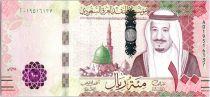 Arabie Saoudite 100 Riyals,  Roi Salmane - 2016