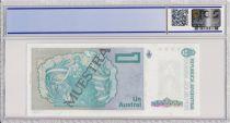Argentina 1  Austral , B Rivadavia  - 1985 - Specimen - PCGS 64 OPQ