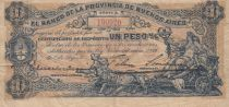 Argentina 1 Peso Banco de la Provincia de Buenos Aires - 1891 - F to VF - S.573
