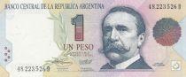 Argentina 1 Peso Pelligrini - National Congress building - 1993 - Serial D